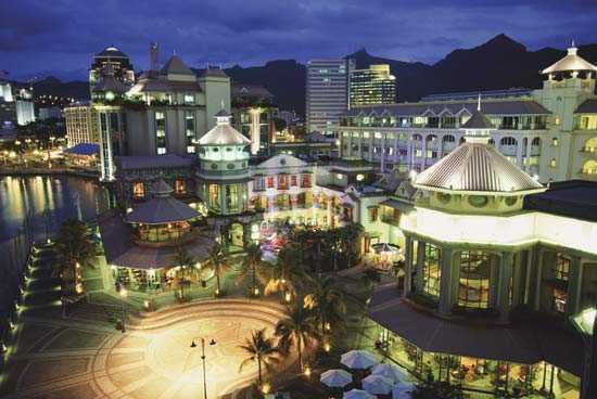 Столица Маврикия - Порт-Луи