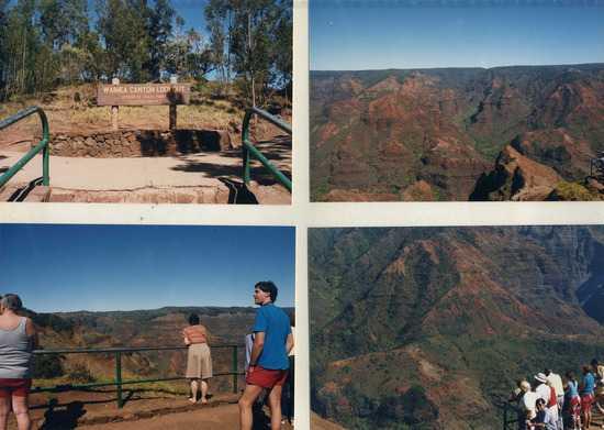 Waimea Canyon: 3500 футов глубины!
