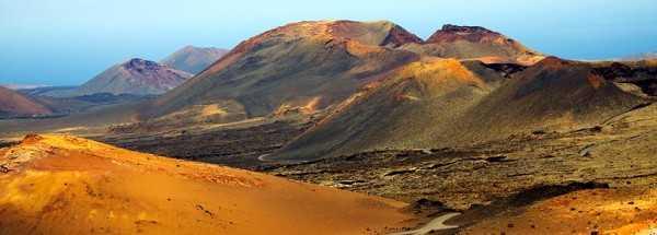 Горы Огня в национальном парке Лансароте
