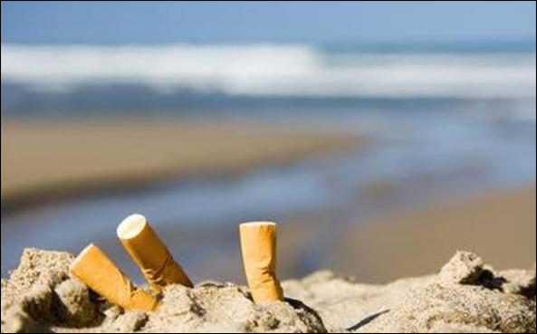 Запрет на курение на пляже
