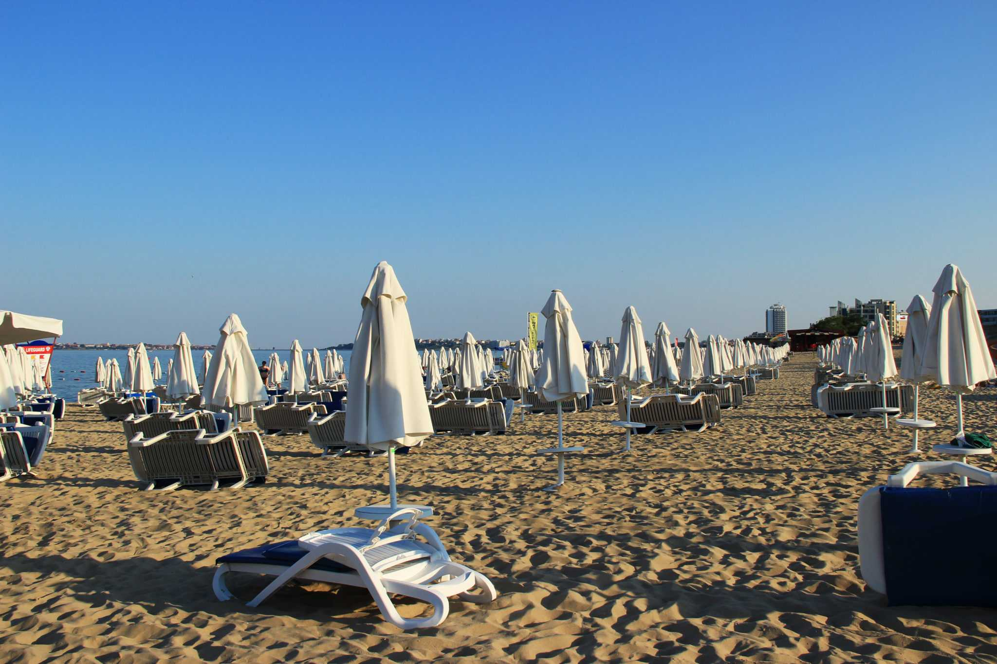 пляж Солнечного берега