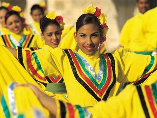 Отдых в Доминикане - танец меренге