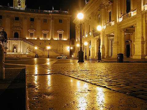 Романтики и Рим – места для влюбленных