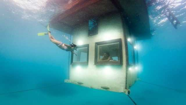 отель под водой