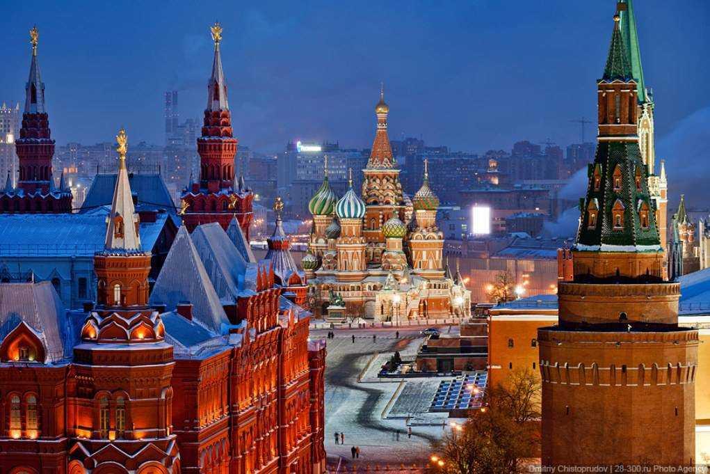 На что стоит посмотреть иностранцам в Москве