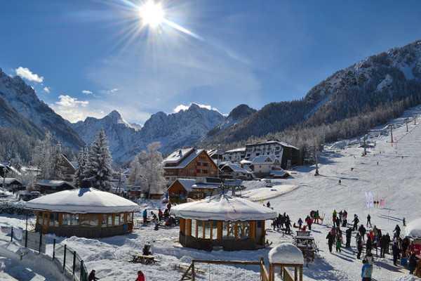 горные лыжи кранська гора