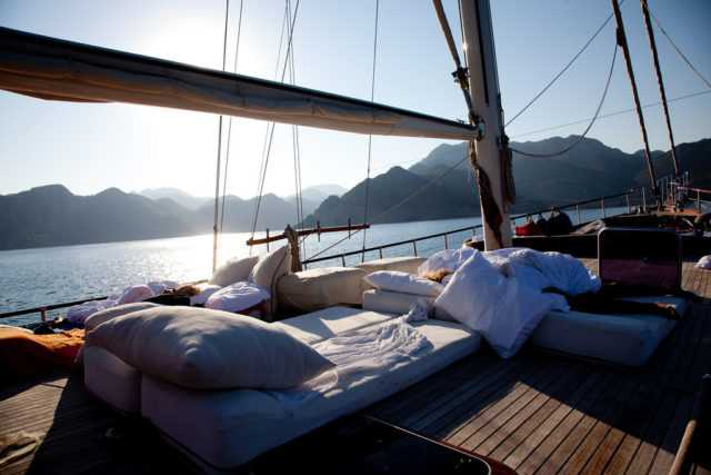 путешествия на яхте