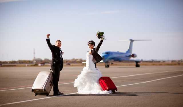Где провести свадебное путешествие осенью