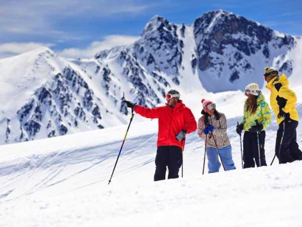 Где покататься на горных лыжах
