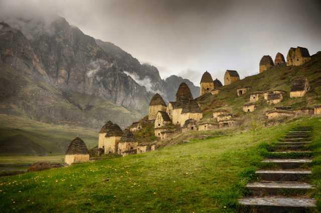 «Город мертвых» в Осетии