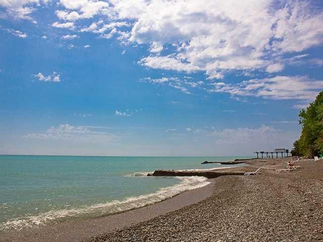 багрипш пляж