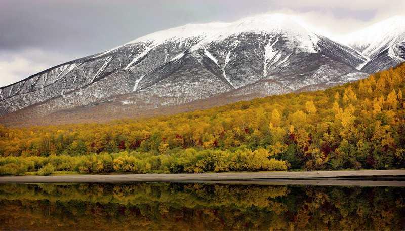 Восточный хребет Камчатка