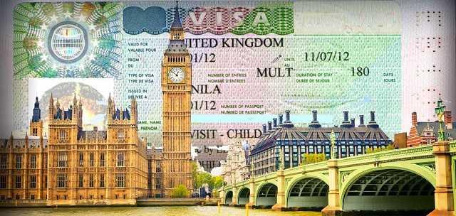Подача анкеты на визу в Великобританию