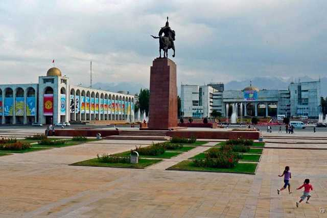 Из Петербурга в Бишкек за 12650 руб.