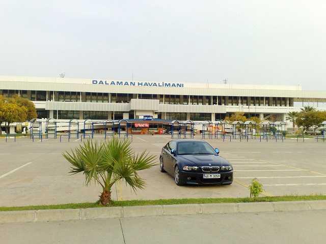 аэропорт даламан олюдениз
