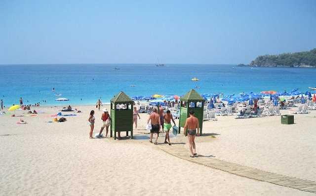 пляж Бельчекыз