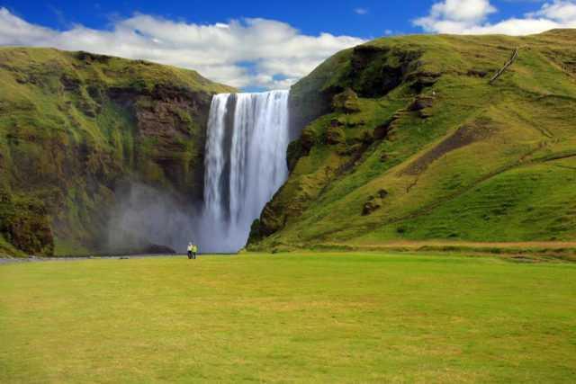 исландия летом