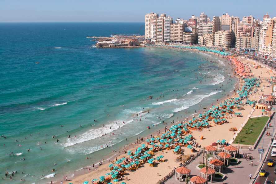 в марте на море - Александрия