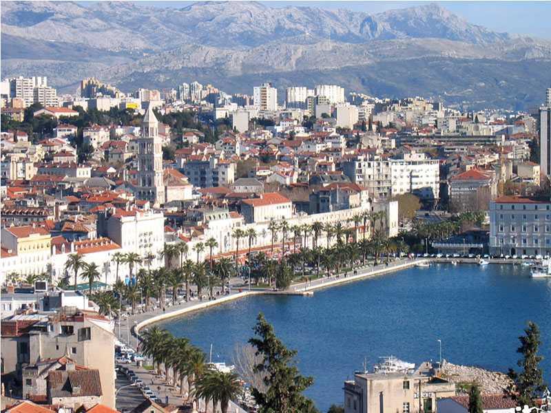 куда поехать на море в августе - Сплит - Хорватия