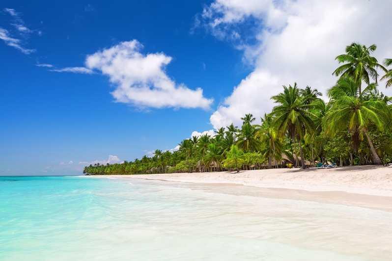 на море в апреле - Остров Саона