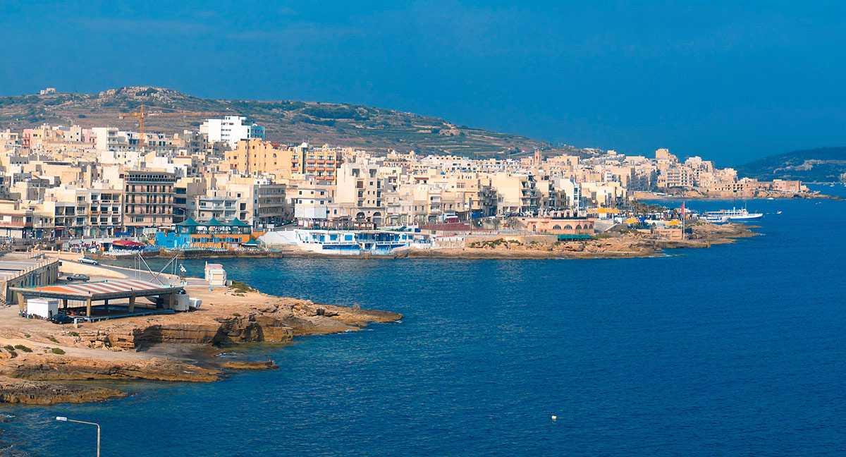 Буджибба в августе - Курорты Мальты