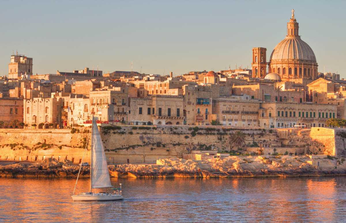 Валлетта, летом, в августе - Курорты Мальты