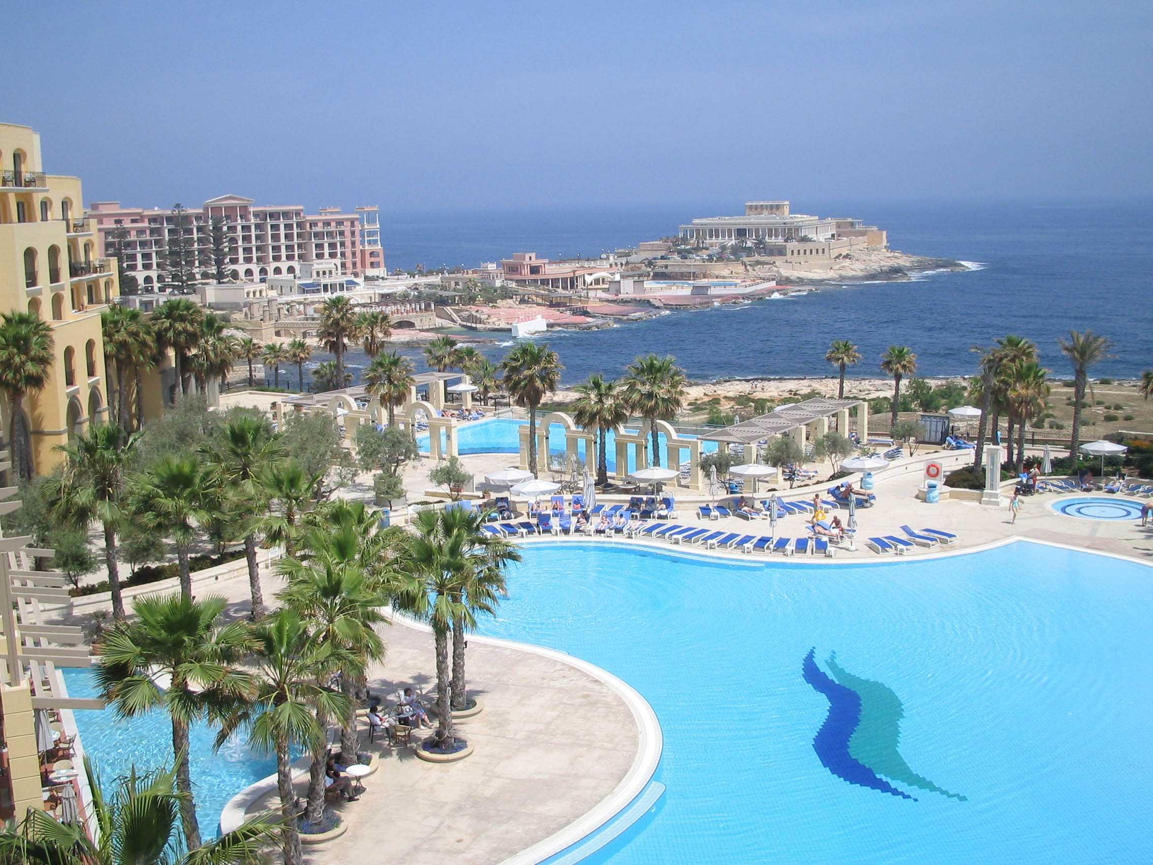 отдых в Слима - Курорты Мальты