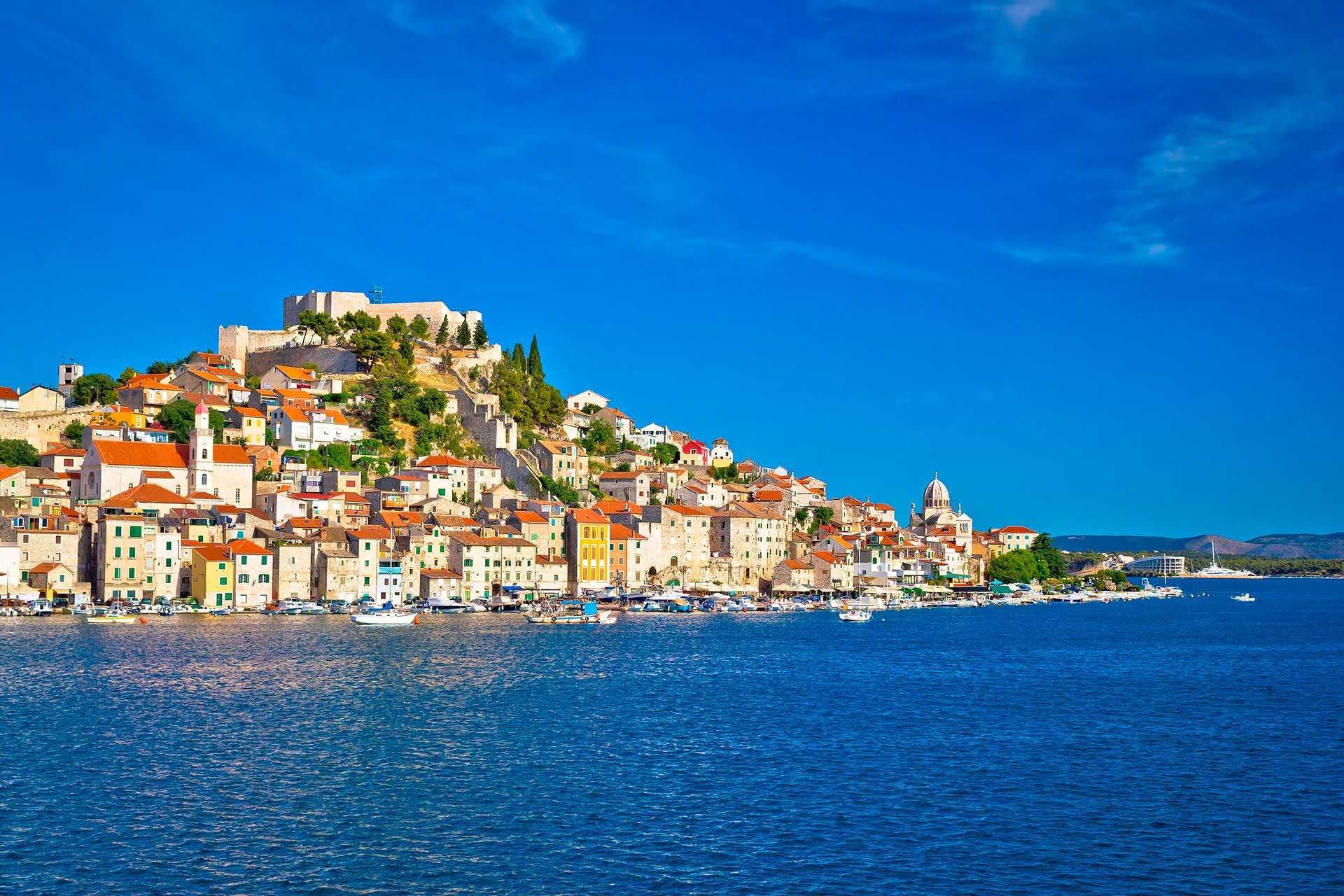 отдых в августе на острове Шибеник - Хорватия
