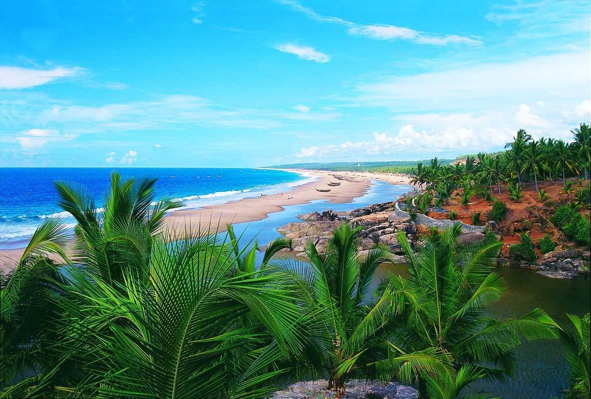 в марте на море - Керала