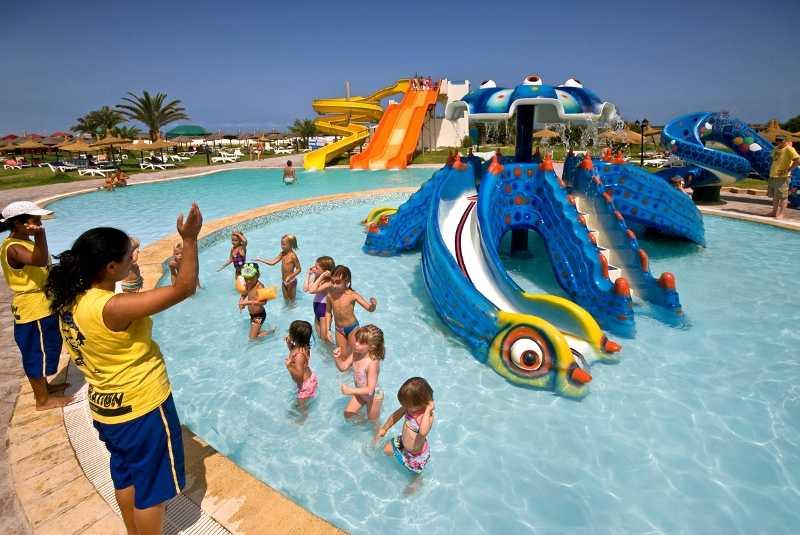 Детский отдых в Тунисе