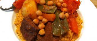 Кухня и еда в Тунисе - tunis, afrika