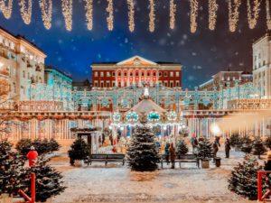 По рождественской Москве